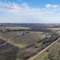 Updated 1200+ Sq Ft Home on 76 Acres of Great Wildlife Habitat in Woodson County, Ks at 2040 Kanza Rd for 301750.0000